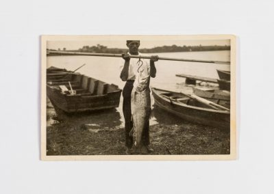 Josef Lex mit einer kapitalen Seeforelle