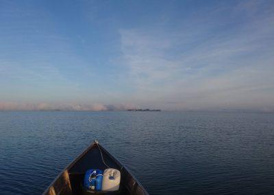 Nebel über'm See