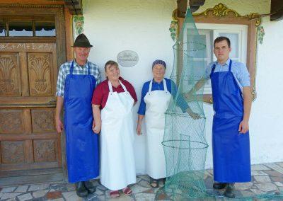 "Fischerfamilie Hans Stephan ""Greamandlfischer"""