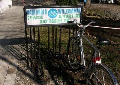 """""""Radfahrer willkommen!"""""""