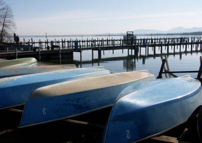 Unsere Ruderboote startklar für die neue Saison