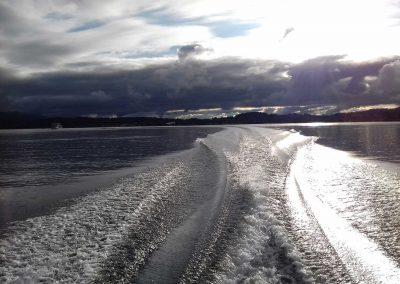 Gewitterstimmung am See